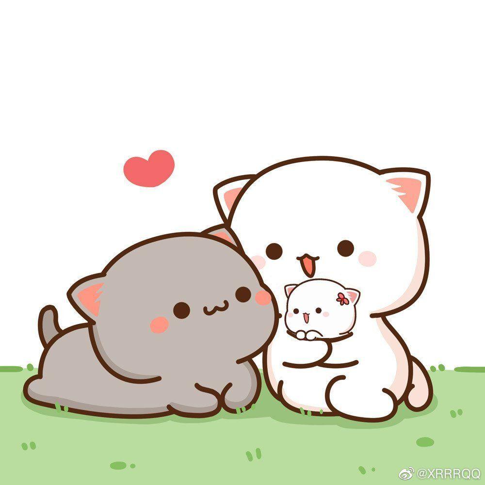 Pin by Pgem Elialis on tarjeta in 2020 Cute anime cat