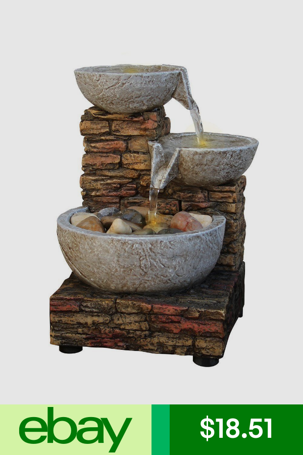Imported Indoor Fountains Home Garden Ebay Tabletop Fountain