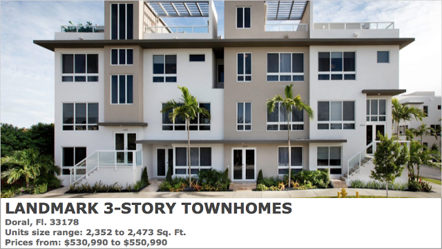 PARADISE LUXURY PROPERTIES: LANDMARK 3-STORY TOWNHOUSE NEW HOMES FOR SALE  IN D...   New homes for sale, New home communities, New homes