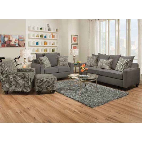 chelsea living room sofa u0026 loveseat gunmetal 49c sofas u0026 loveseats