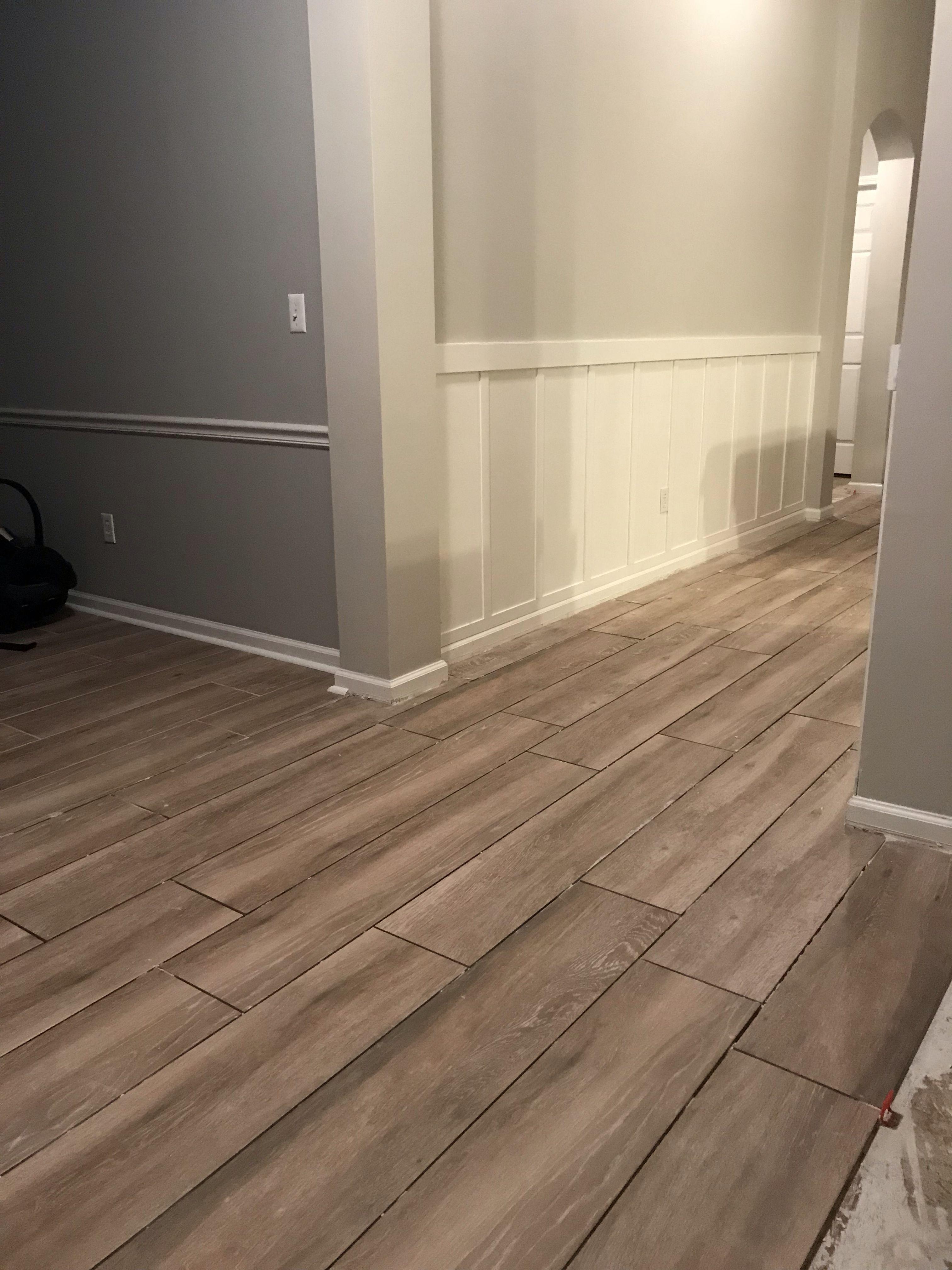 Home Improvement Wood Look Tile Wood Look Tile Floor House