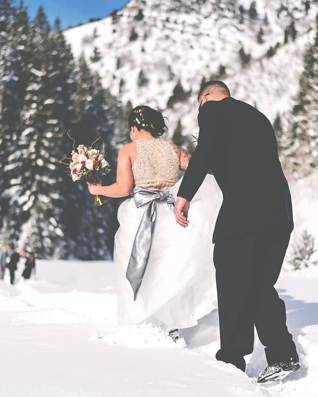 This Tinder Couple Got Married In The Mountains, With Just