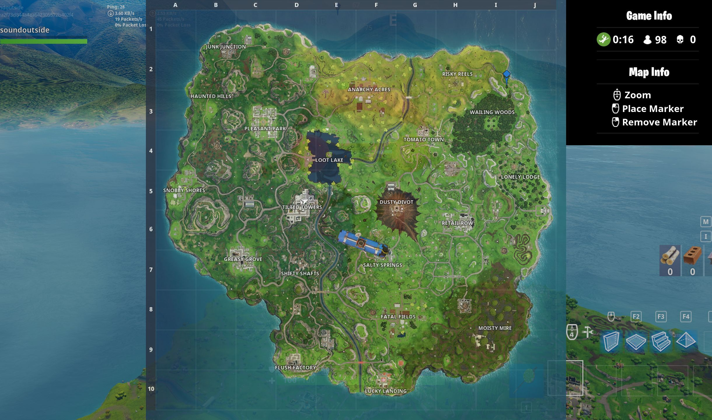Fortnite Chapter 2 Season 2 Map Changes And New Locations With