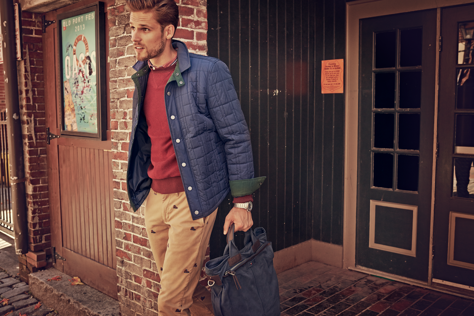 Practical and smart, make a new-season jacket work for you.