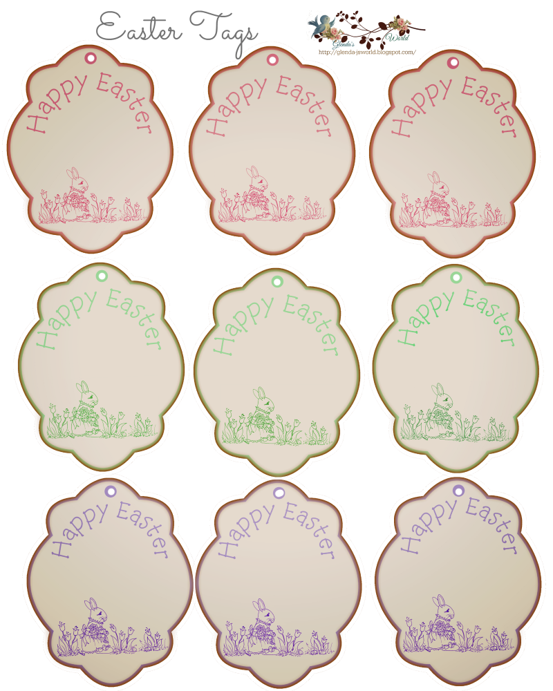 Free easter tags do it yourself today pinterest easter free free easter tags negle Gallery