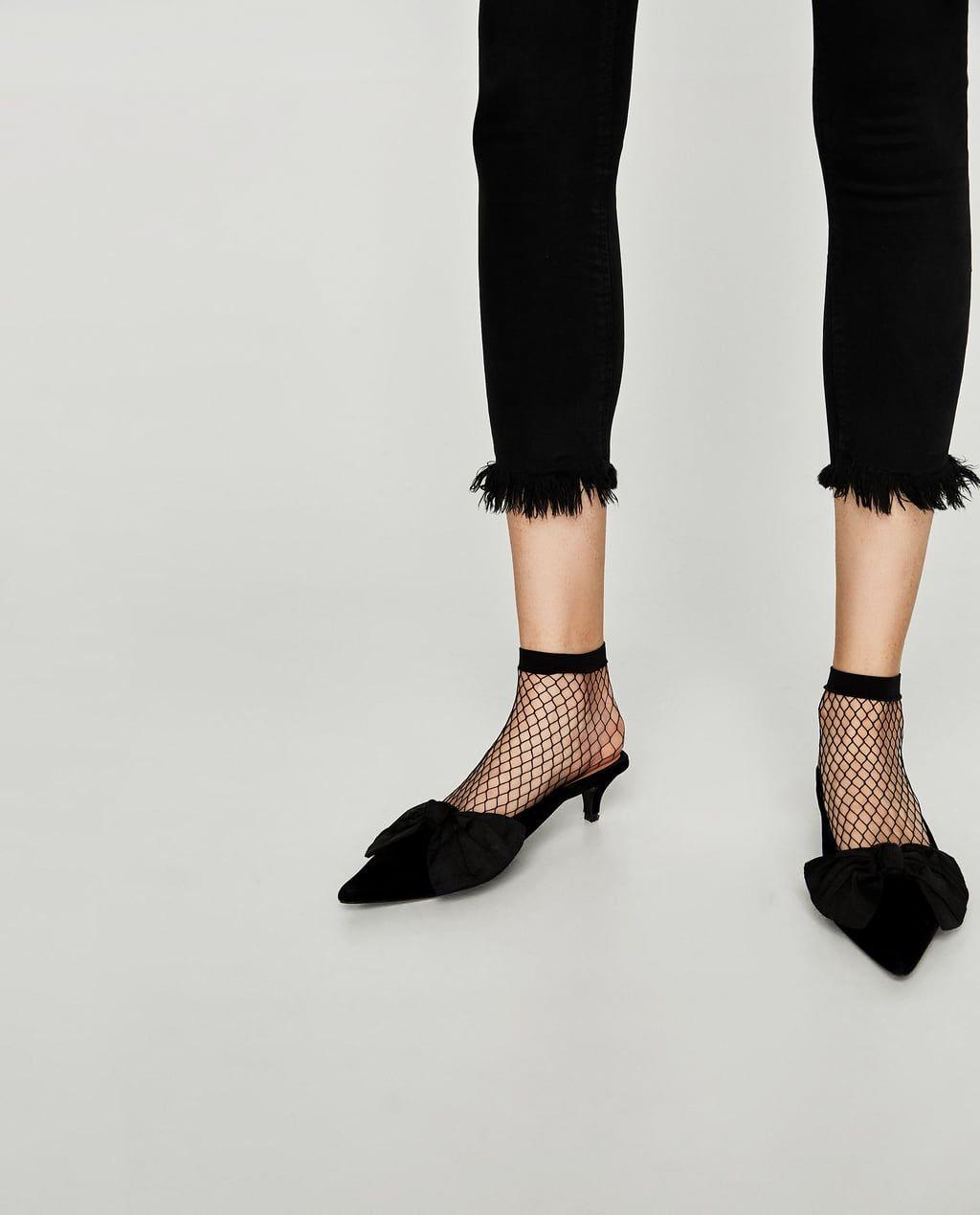 Image 4 Of Pack Of Mesh Socks From Zara In 2019 Socks