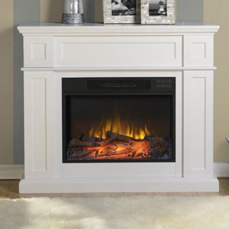 Home Improvement Electric Fireplace With Mantel Electric