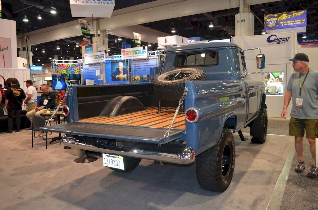 classic truck at the 2017 sema show at the las vegas convention center trucks pinterest. Black Bedroom Furniture Sets. Home Design Ideas