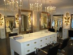 Hair Salon Color Schemes Deberardini Design Salons Ideas Commercial
