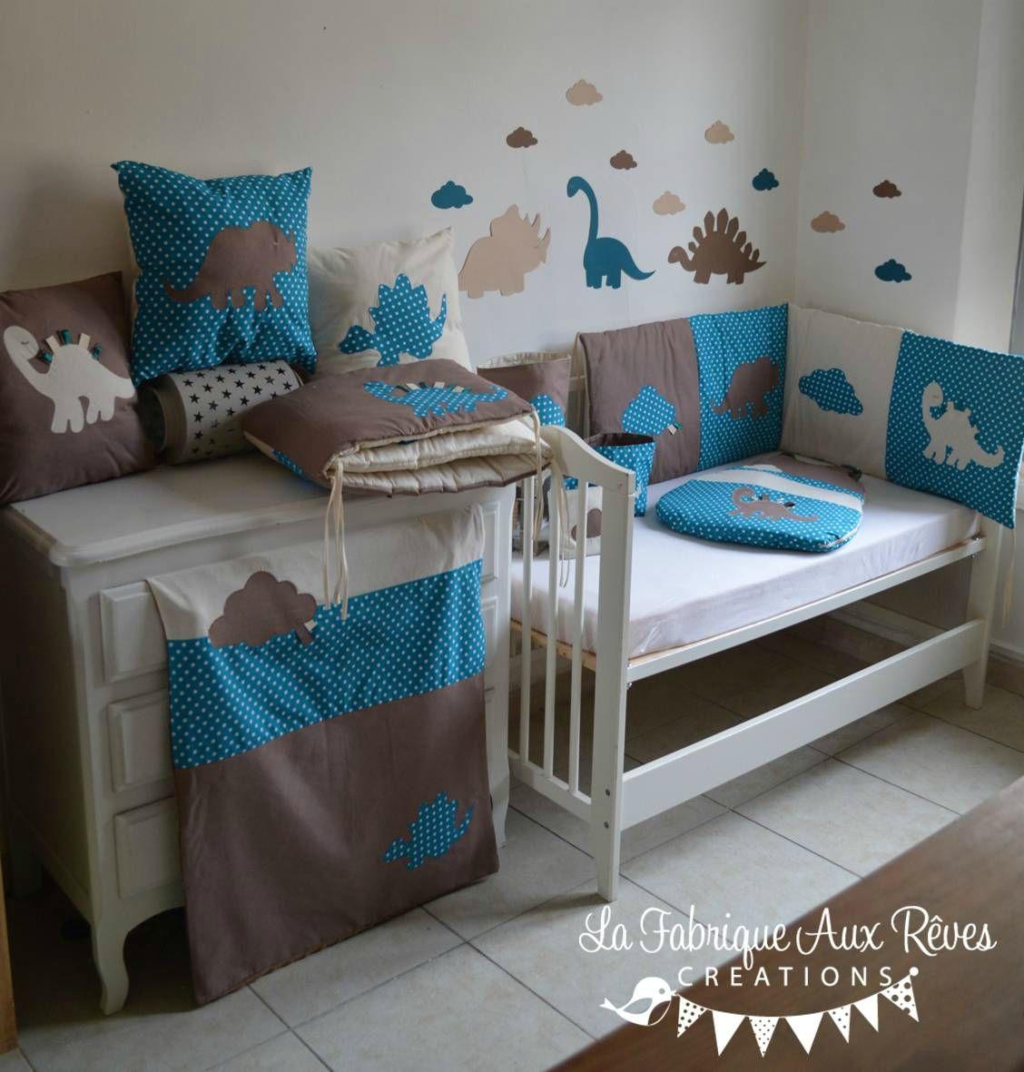 Chambre Bébé Moderne Élégant Deco Chambre Bleu Et Marron - concept ...