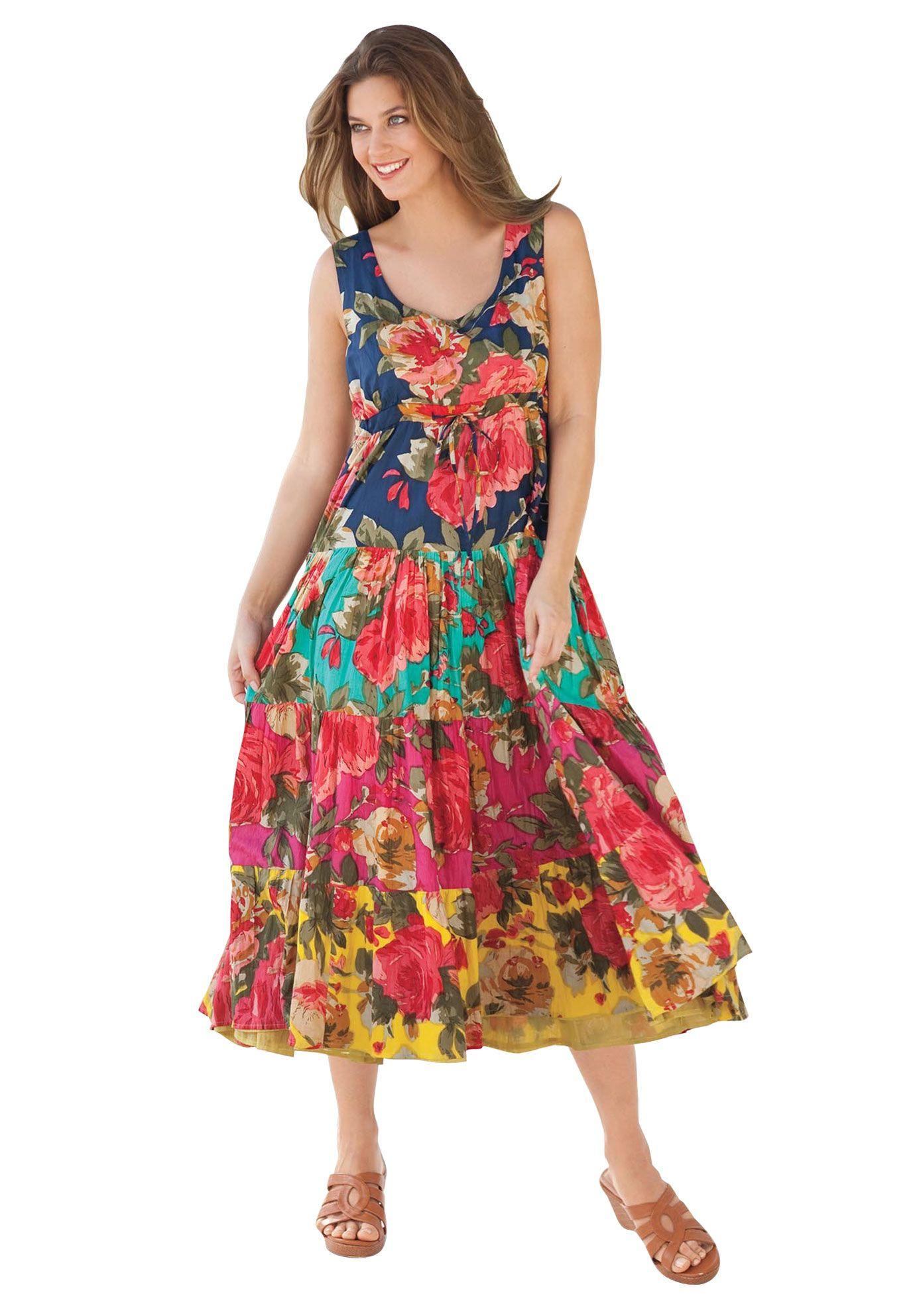 Park Art|My WordPress Blog_Strawberry Dress Plus Size Model