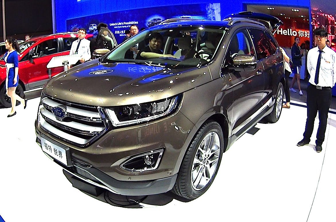 Officially New Ford Edge 2016 2017 This Is The New Ford Edge 2016