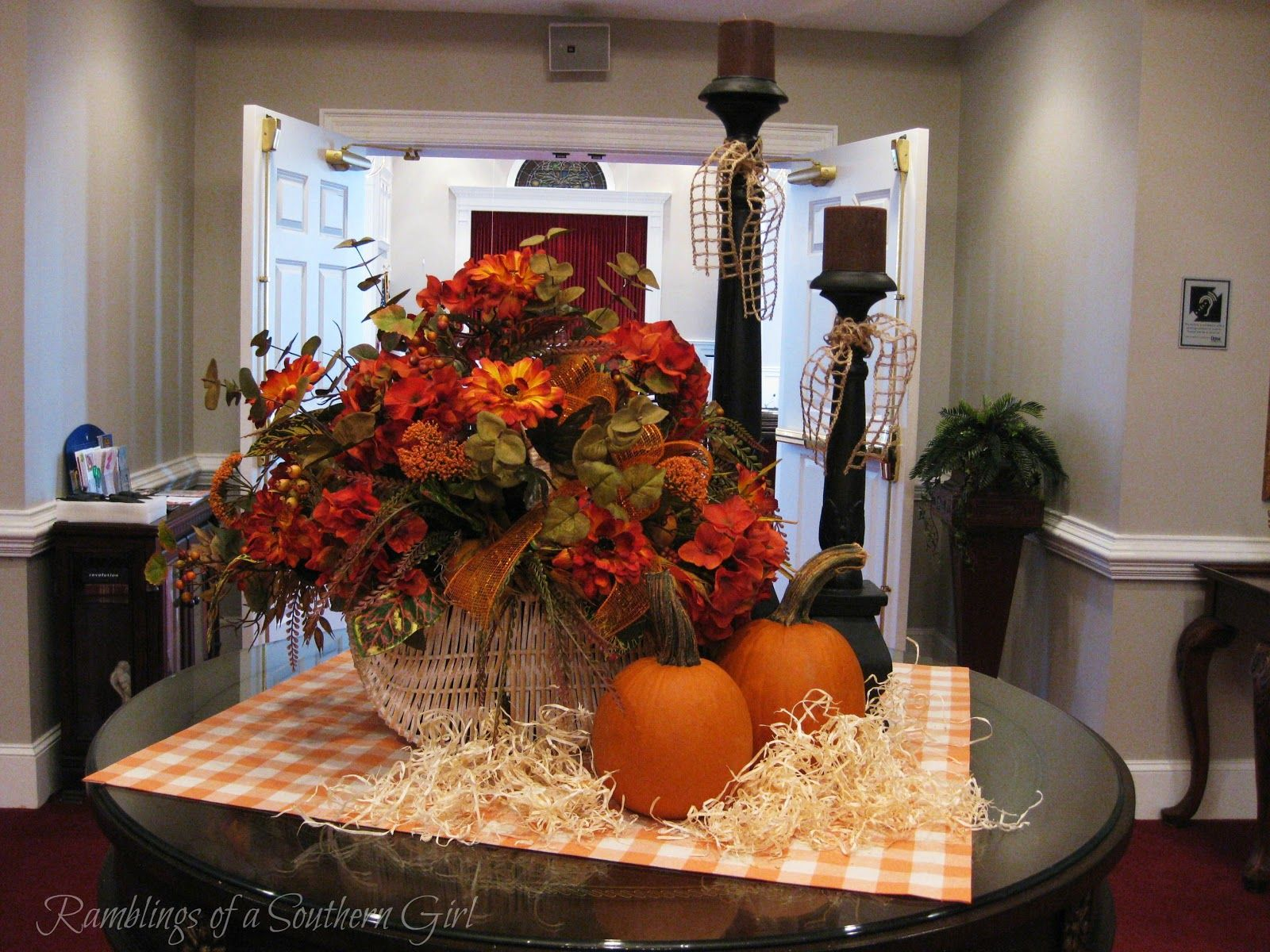 fall flower arrangements for church sanctuaries Fall