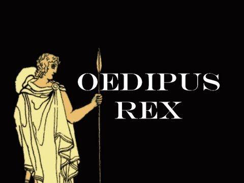 Oedipus rex writing style
