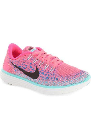 d8054a2f546 NIKE  Free Rn Distance  Running Shoe (Women).  nike  shoes