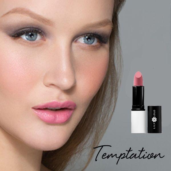 Souvent Rouge à Lèvres Naturel Lily Lolo Temptation, un rose bonbon frais  TS14