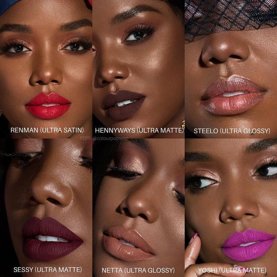 Obtain everyday beauty for FREE! Beautiful matte lipstick colors for your lips, that will NOT dry y