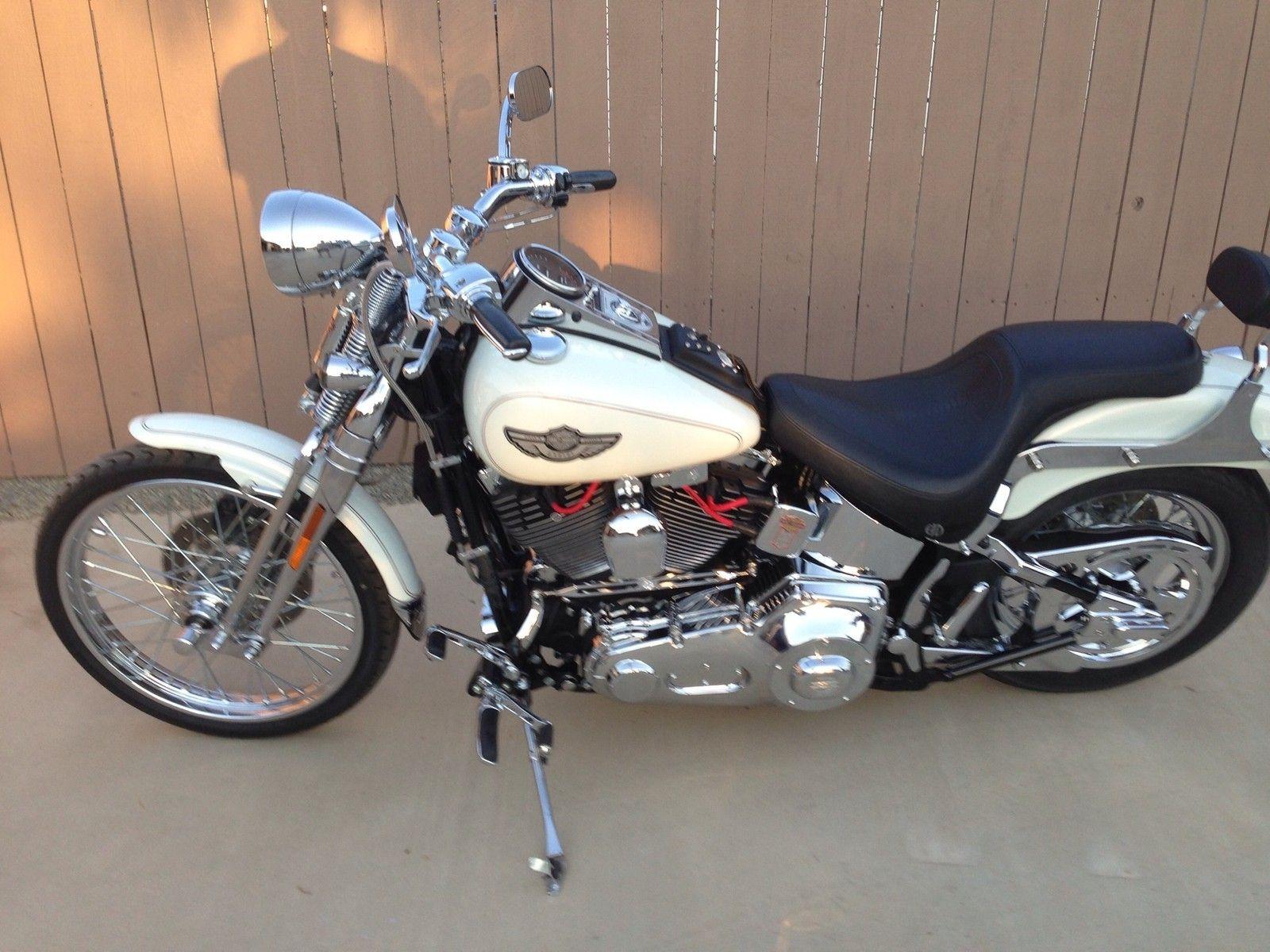 Harley-Davidson : Softail 2003 Harley Davidson Softail Springer Cruiser Anniversary Model Excellent Cond