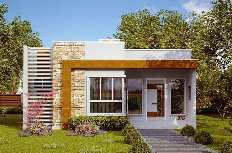 planos de casas modernas bonitas