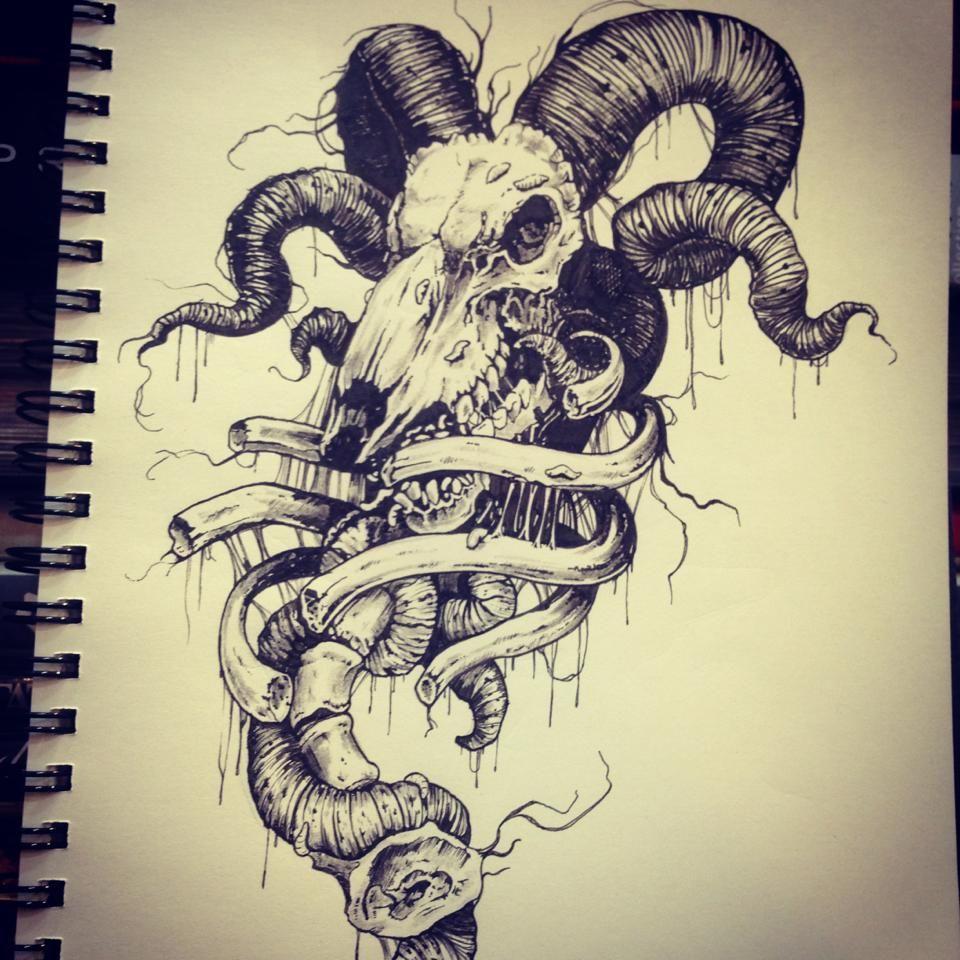 Aries by wayfoxway Aries by wayfoxway Tattoo drawings