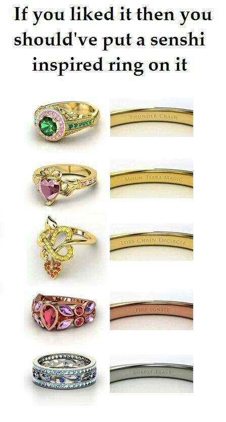 925 Silver Sailor Moon Sailor Mercury Natural Opal Ring Limted Proposal Ring