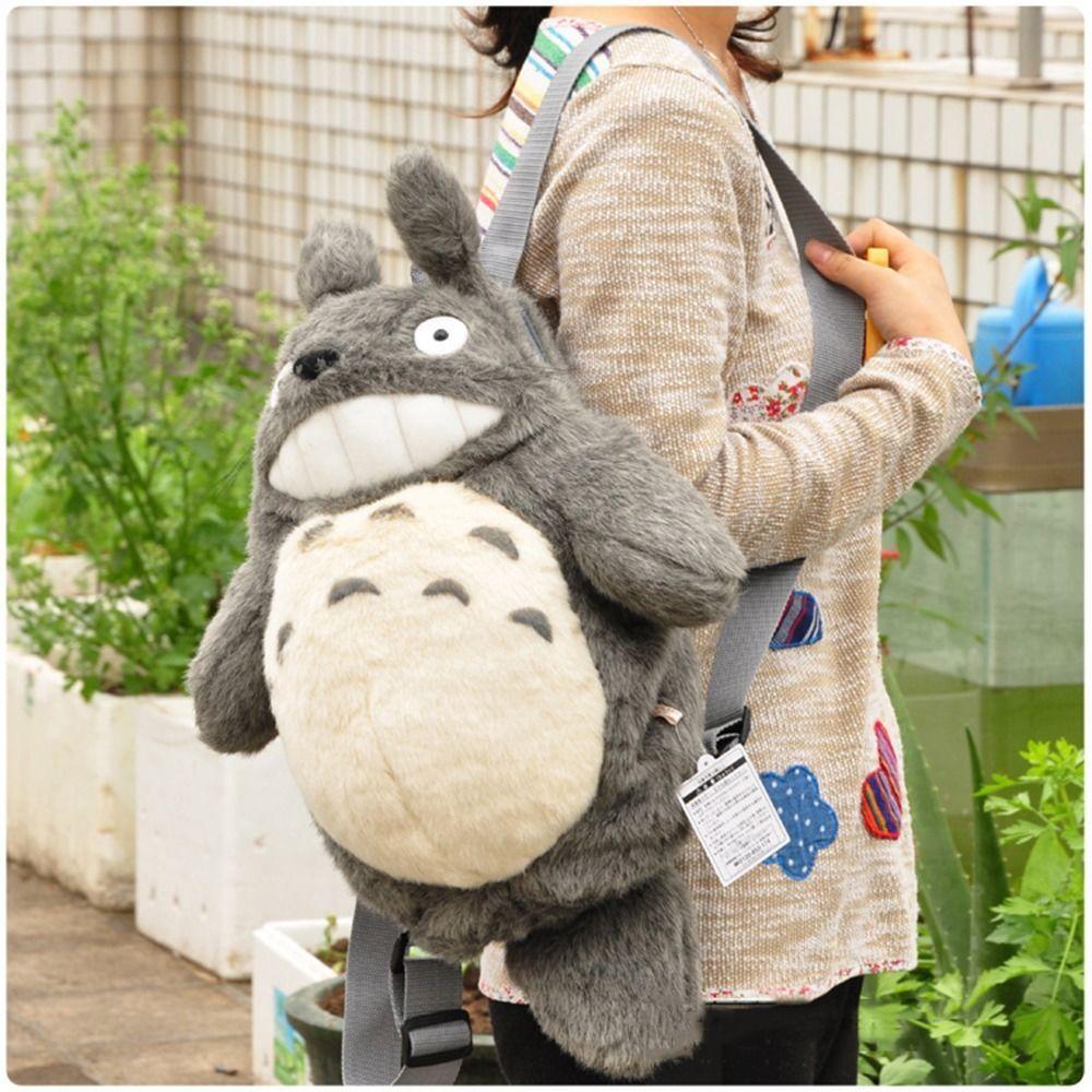 My Neighbor Totoro Backpack School bag Doll Plush Toys Knapsack 50cm Anime  | eBay