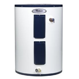 Whirlpool 28 Gallons 6 Year Lowboy Electric Water Heater 22 Dia X 29 5 H Electric Water Heater Water Heater Hot Water Heater