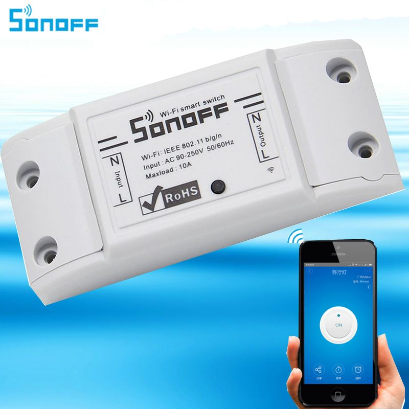 Sonoff Wifi Switch,Universal Smart Home Automation Module Timer Diy