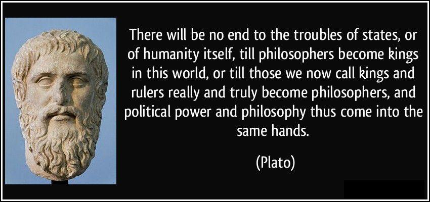 Plato on Society