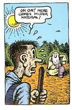 R Crumb Mr Natural Underground Comic Robert Crumb Art Robert Crumb
