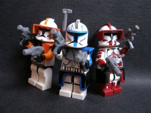 Lego Clone Commanders And Captains