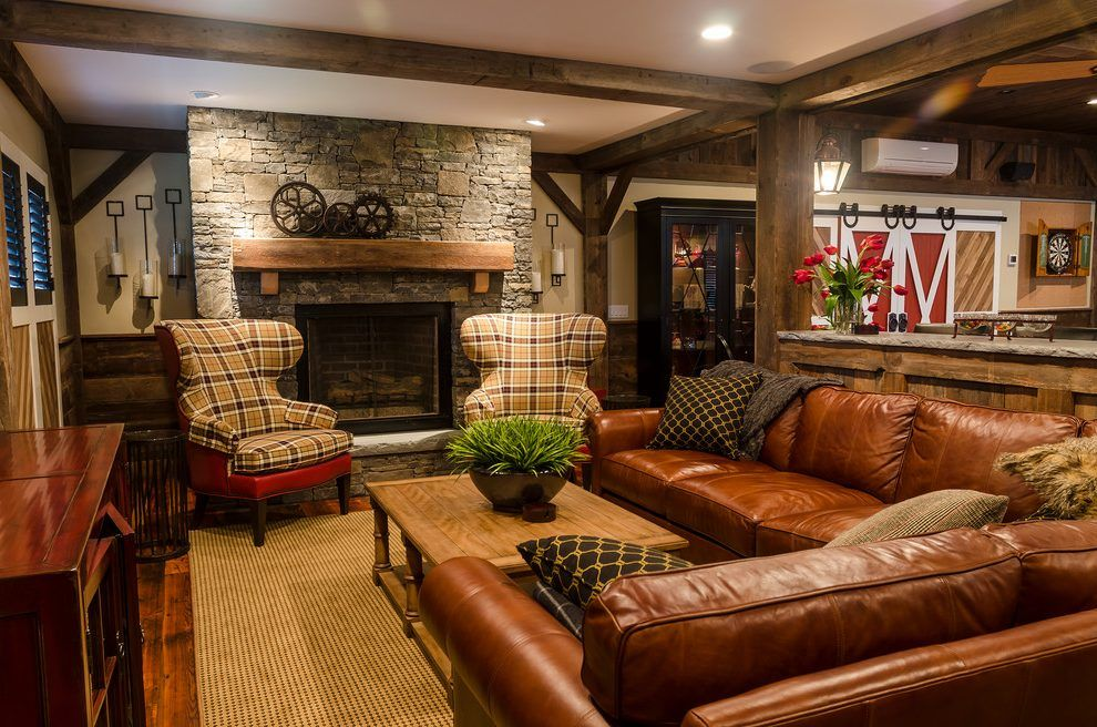 ethan allen maison family room farmhouse with tv stands