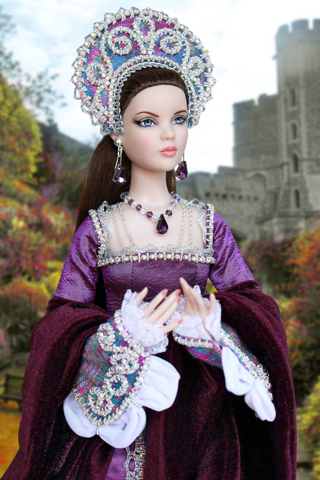 571fbca860539 Tonner handmade OOAK historical outfit for dolls with Antoinette ...