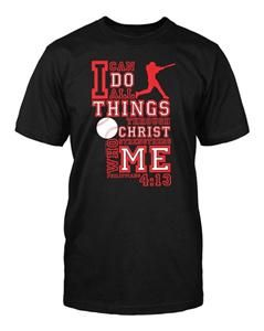 """#Baseball - """"I can do all things through #Christ who strengthens me."""" #Philippians 4:13"""