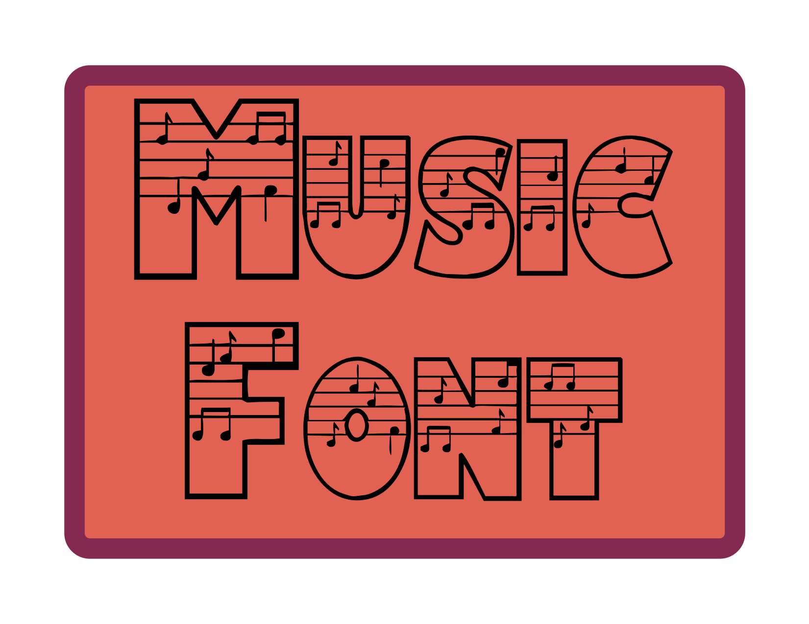 Music Education This Is A Perfect Font For Music Teachers