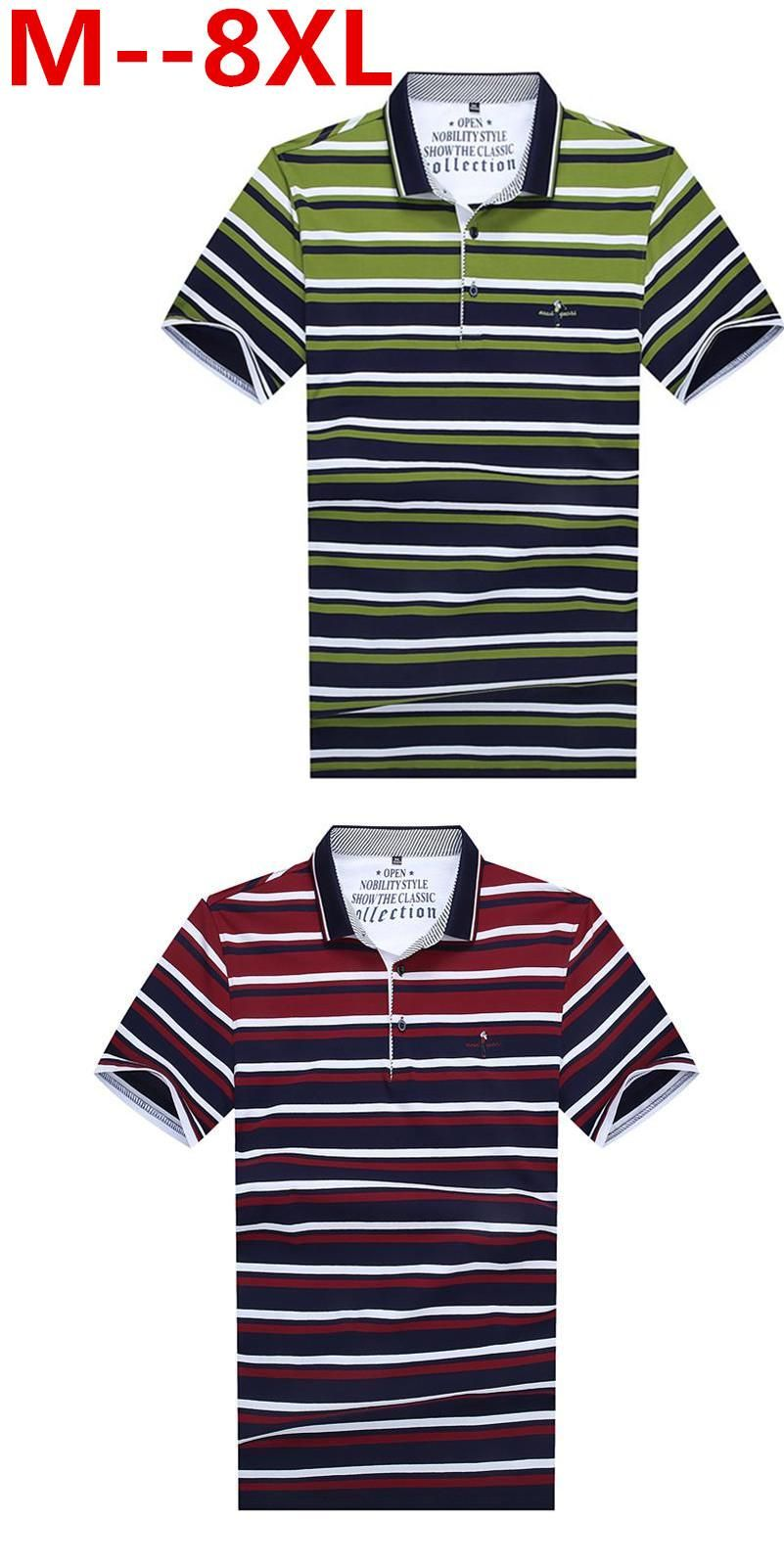 10xl 9xl 8xl 7xl 6xl 5xl 4x Men Cotton Polo Shirt Contrast Color