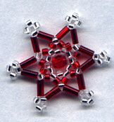 Jewelry Making Tutorials  Learn How To Make Jewelry - Beading & Wire Jewelry Classes : DIY How to make beaded snowflake charms