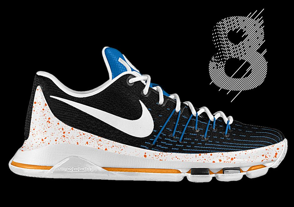 6c8ce869b4f5 Black People. Nike Sneakers. NIKE KD 8(ID) - 2015 Air Jordan 9