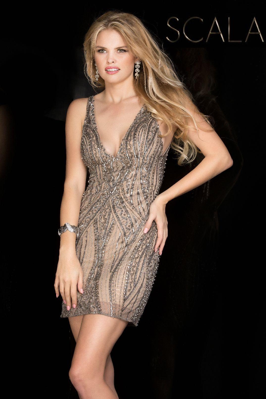 Evening dresses prom dresses by scalaucbrueascucbrueillusion sheer