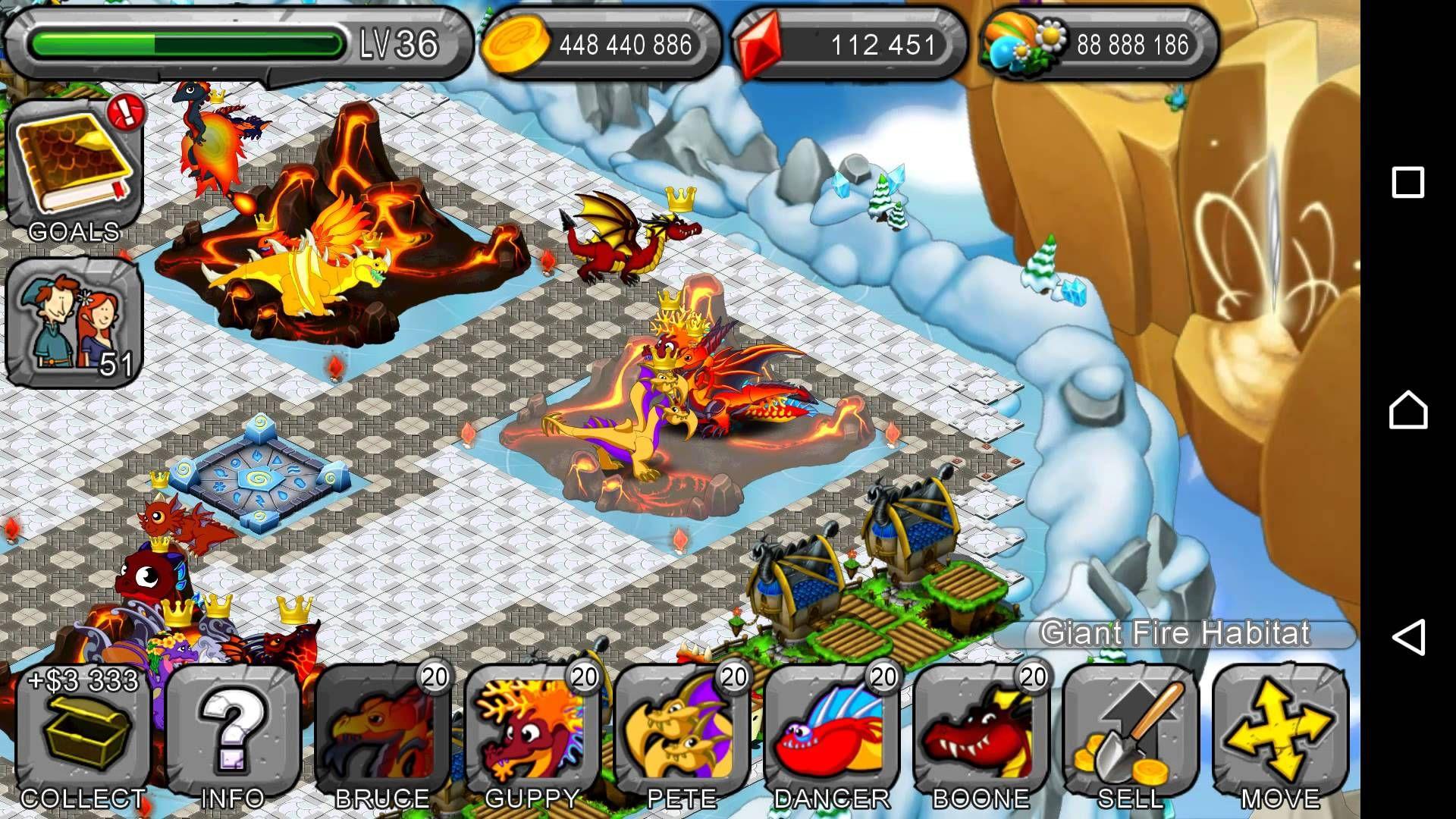 dragonvale world mod apk unlimited gems