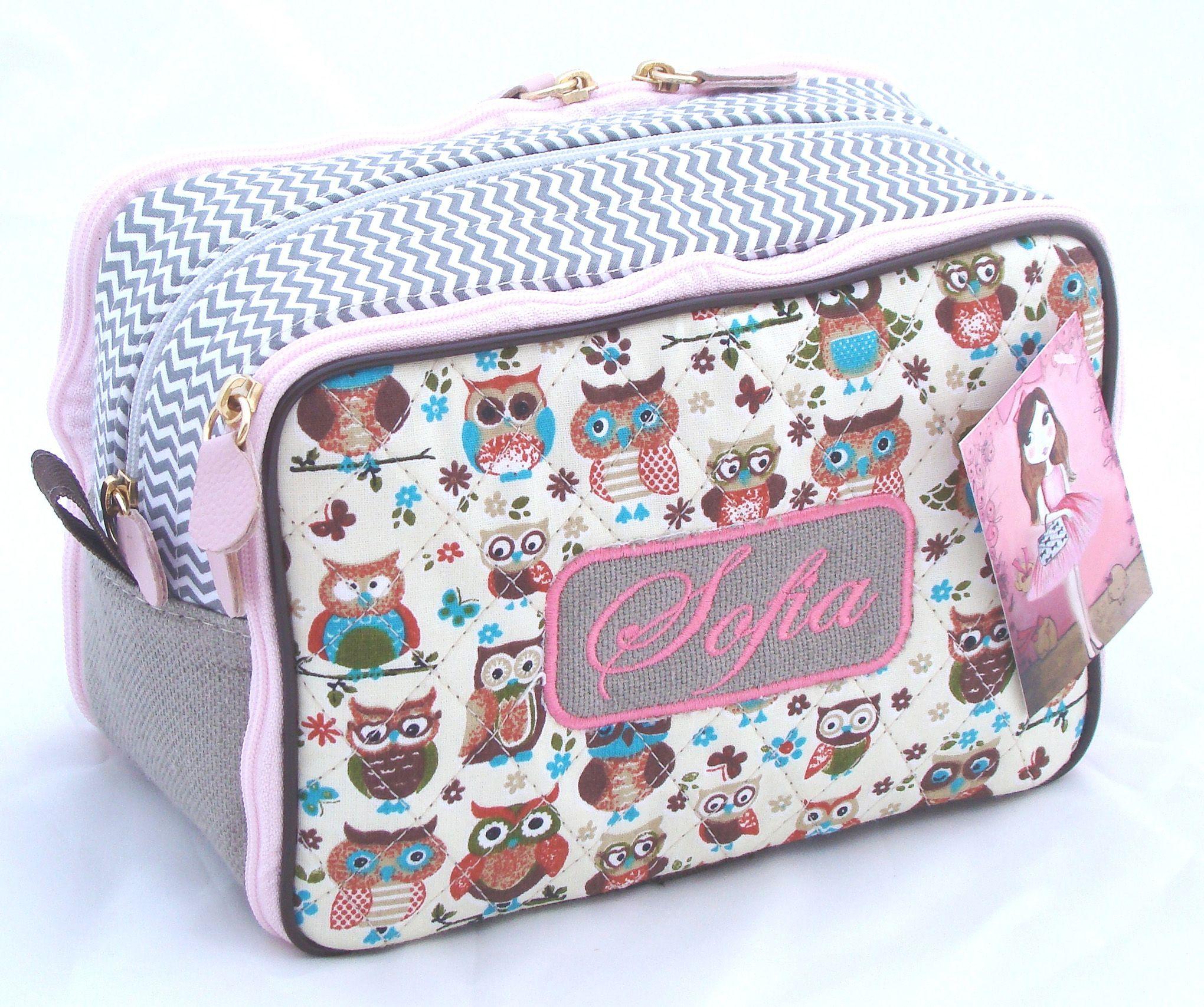 5dcc6ac5d Estojo escolar personalizado www.puppen.com.br | Bags | Fabric dolls ...