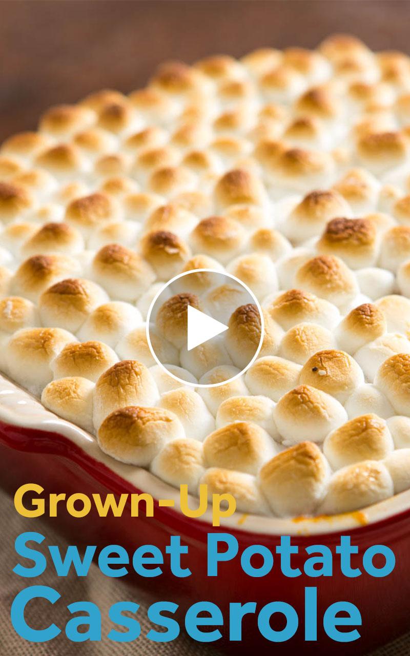 Sweet Potato Casserole With Marshmallows Recipe #sweetpotatocasserolewithmarshmallows Sweet Potato Casserole Recipe #sweetpotatocasserolewithmarshmallows