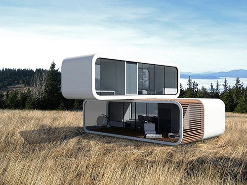 Coodo, Modular Residential Building, Future Design, Future Homes,  Futuristic Home