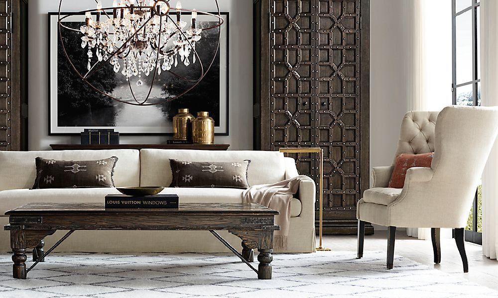 Restoration Hardware is the world\u0027s leading luxury home furnishings