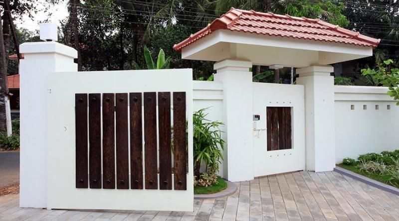 Front gate designs for homes front gate design of house for Front gate design