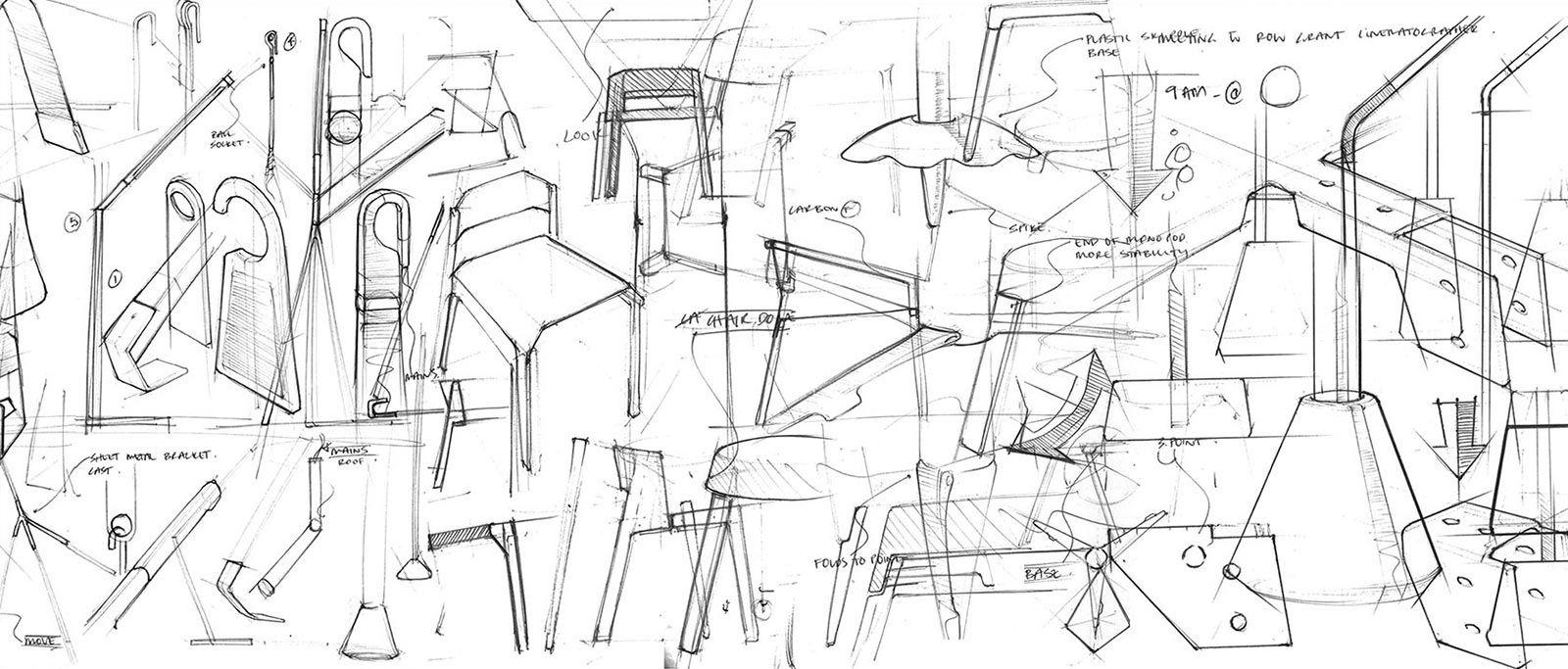 Industrial design sketches furniture - R Sultat De Recherche D Images Pour Croquis Design Sketchproduct