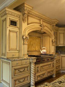 Traditional High End Kitchen Luxury Kitchen Design Old World