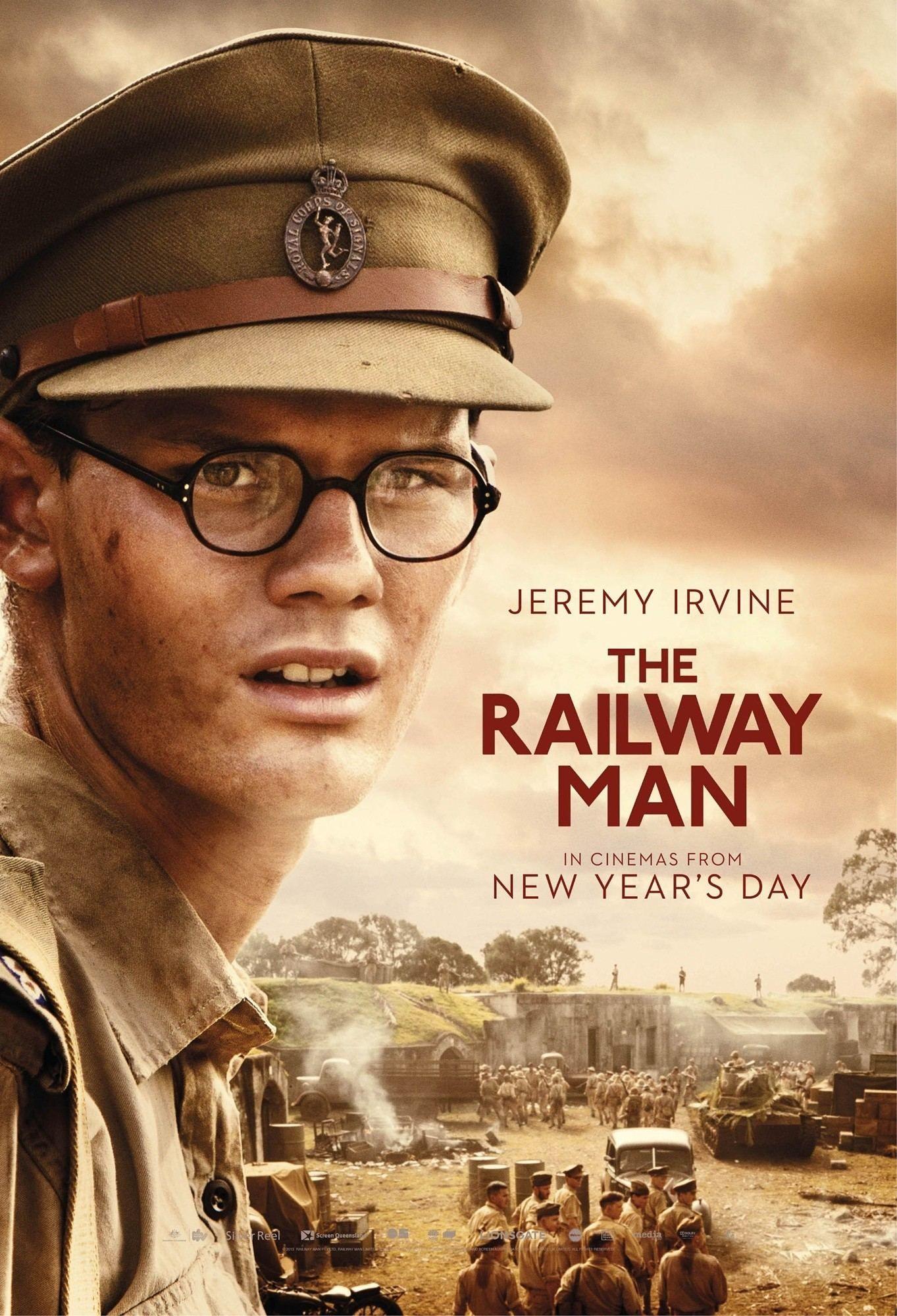 vejam os cartazes do filme quotthe railway manquot com nicole
