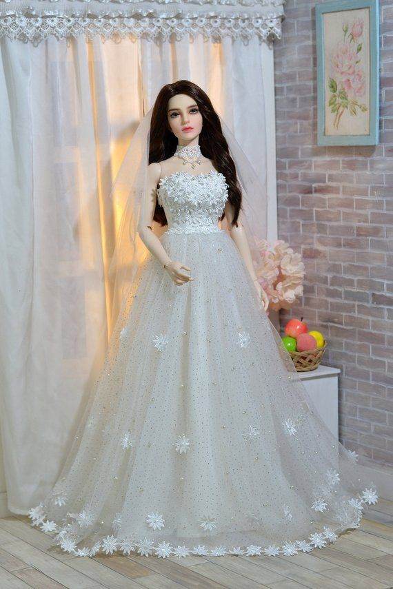 7d20775408af1 Daisy Blossom Wedding Dress for Iplehouse SID, EID BJD | Products in ...