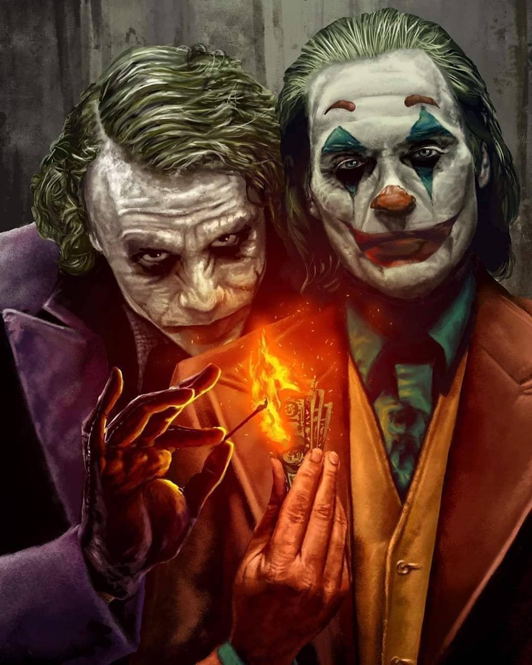 Jokers Joker Art Batman Joker Wallpaper Joker Artwork [ 1350 x 1080 Pixel ]